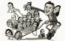 Groepskarikatuur