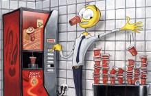 Menzis Cartoon: 'Bekerverbruik'