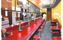 Ramen bar. Poster Colour op papier