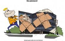 2011 - Inkt op papier en Photoshop. In opdracht van Rabobank Maastricht e.o.