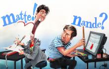 Matte-Nande-karikatuur
